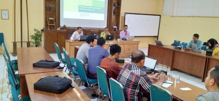 Penguatan Layanan Akademik Fakultas Berbasis ICT